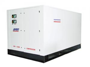 China 400cfm 145psi Automatically Motor drving portable screw air compressor 10 bar 11.3m3 / min supplier