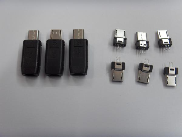 V8 8600 LG3500 5.0 Micro USB Connector Kit Cell Phone 5 PIN ...