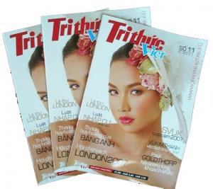 China Gloss / Matte Wrinkle Full Color Magazine Printing With Logo Embossing / Debossing on sale