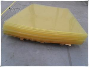 China Wear Resistanc Polyurethane Rubber Sheet , Clear Polyurethane Plastic Sheet on sale