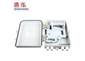 China Max 24 Cores Fiber Optic Termination Box Max 24 Cores Communication on sale
