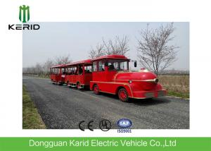 China Regent Style Mini Electric Trackless Train With 42 Seats DC Motor Fashion Design on sale