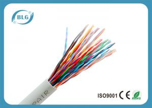 China PVC / LSZH Indoor Telephone Line Cable For Multipair Communication 26AWG on sale