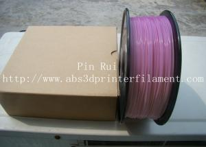 China High Quality 3D Printer Filament PLA 1.75mm 3mm For White To Purple  Light change  filament on sale
