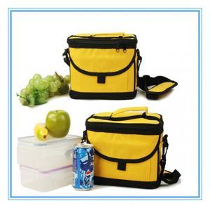 China 600D / 420D Food Cooler Bag Polyester Outdoor Designer Custom Logo on sale