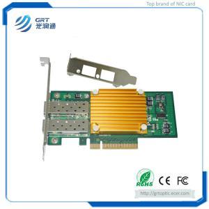 China F1002E 10Gigabit  Intel 82599ES Dual-port Fiber Ethernet PCIe NIC Network Server Adapter on sale