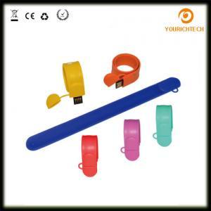 China Promotional Waterproof Rubber Usb Sticks Silicone Wristband Pend rive, wristband usb 2.0,2gb 4gb 8gb 16gb 32GB 64GB on sale