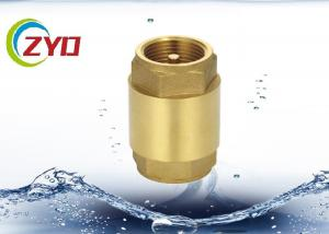 "China Commercial Plumbing Brass Check Valve , 1/2"" - 4"" Horizontal Copper Check Valve on sale"