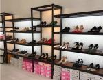 Shopping Mall Shoe Display Equipment / Large Shoe Shelf Customized Modelling