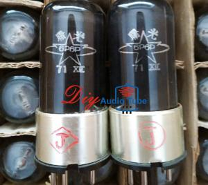 China Octal Base Vintage Vacuum Tubes Filament Vf 6.3 Volts Shuguang NOS 6P6P on sale