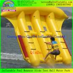 China Customzied Inflatable Flying Fish Tube Towable Inflatable Banana Boat Flying Fish wholesale