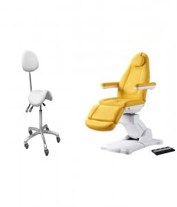 China Hospical Clinic Using Dental Chair With Electric Motor For Nuga Massage Bed on sale