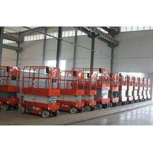 Quality Mobile Self Propelled Scissor Lift Aerial Work Platform For Aircraft Maintenance / Manufacturing for sale