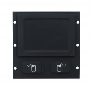 China Ip65 Weatherproof  Balck Rubber Industrial Touchpad Rear Panel Mounting on sale