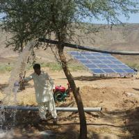 4kw Solar Pv Water Pumping System / Solar Powered Water Pump Kit For Farming