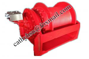 China custom built high quality hydraulic winch / high speed hydraulic winches marine winch from china factory on sale
