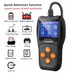 Plastic Car Battery Tester Analyzer Konnwei Free Upgrade System For 12v Cars