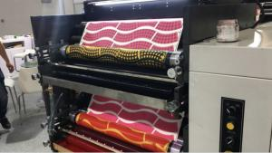 Quality High Speed Roll Paper Industrial Die Cutter , Paper Flexo Printing Machine For for sale
