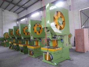 China Second Hand Power Press Machine , O Type Steel Plate Industrial Press Machine on sale