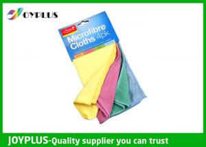 China Microfiber Cleaning Cloth 4PK  Absorbable  Microfiber Kitchen Towel Set on sale