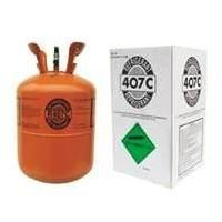 R407C  Odorless 99.8% Purity Air Conditioning Refrigerants  for positive displacement