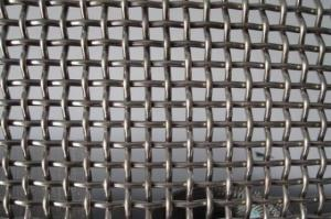 China Stainless Steel Crimped Mesh Screen with 3MM Thickness 10MM Aperture on sale