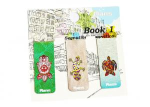 China Personalized Magnetic Bookmarks, Durable Custom Made Magnetic Clips Signs on sale