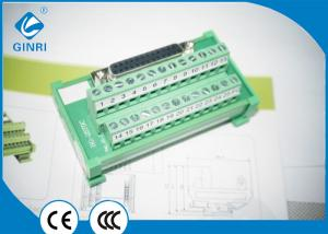 China D-Sub Female Terminal Block 16-22 AWG Support Most Of PLC Output Interface on sale