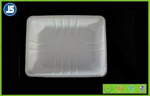 China Airline Plastic Food Packaging Trays Color Printing , Eco Friendly Atlas Tray on sale