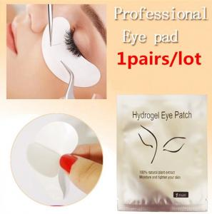 China Thin Hydrogel Eye Patch for Eyelash Extension Under Eye Patches Lint Free Gel Pads Moisture Eye Mask on sale