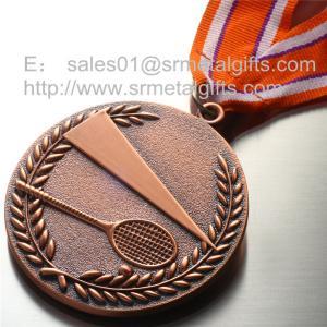 Blank tennis medals wholesale, custom metal engraved blank