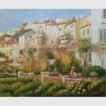 Custom Pierre Auguste Renoir Oil Paintings Reproduction Terrace at Cagnes
