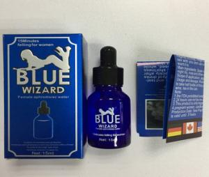 China Blue Wizard Libido Female Labido Enhancer Woman Sex Drops Increase Sex Drive on sale