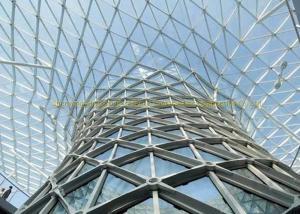 China 金属の建物によって曲げられる鋼鉄屋根は高い反錆の性能を縛ります on sale