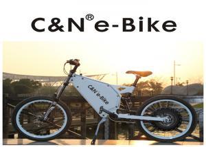 China Lithium Battery Electric Motor Mountain Bike , High Speed Cruise Distance E Bike on sale