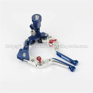China 7 / 8 Motorcycle Brake Clutch Lever Master Cylinder 100% CNC Finishing on sale