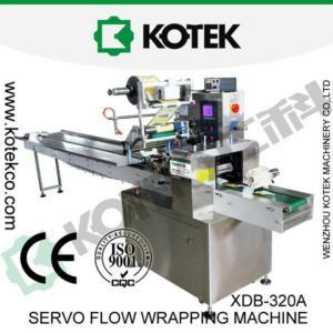China Pillow Type Bag Horizontal Flow Packaging Machine on sale