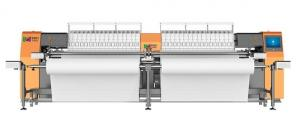 China 900 RPM High Speed Computerized Sewing Quilting Embroidery Machine With Low Noise on sale