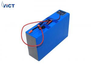 China Custom Lithium Ion Rechargeable Battery Pack / 24V 40Ah Lifepo4 Rechargeable Battery on sale