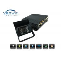 4CH H.264 128GB SD 3G GPS WiFi MDVR Vehicle Car DVR Recorder IR Rear View Camera