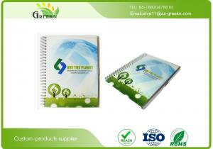 China PVC Cover Material CMYK Printing Spiral Bound Grid Notebookfor School Studens on sale