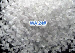 China Bonded Abrasives White Fused Alumina , Sandblast Aluminum Oxide Abrasive Media on sale