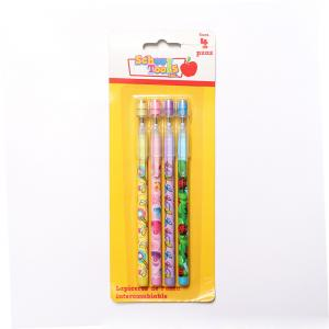 China 3 Color Bullet Push Pencil For Kids Non-Sharpening Pencil / 9 Leads Pencil on sale
