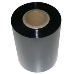 Black 110mmx300m wax/resin ribbon Zebra Compatible - 1 inch