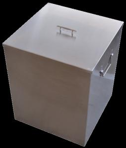 China Stainless Steel X Ray Film Storage Boxes 435x435x530 Mm For Hospital on sale