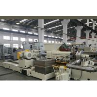 China Wet Granulation Plastic Pelletizing Machine , Twin / Single Screw Extruder on sale