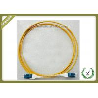 Multimode Fiber Optic Patch Cord , Duplex Fiber Optic Cable With Low Insertion Loss