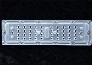 China Osram 3030 Chips SMD LED Lens , Optical LED Lamp Lens TYPE2-S For Street Lighting on sale