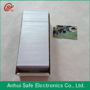 China carte imprimable de PVC de jet d'encre on sale