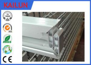 China Hollow Aluminium Solar Panel Frame , Self Crimped Extruded Aluminum Framing En 755 on sale